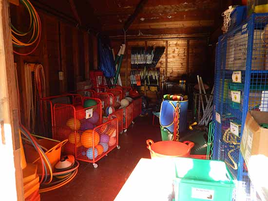 Berkswell Primary School PE Equipment