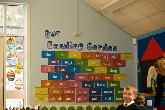 Berkswell Primary School Reading Display