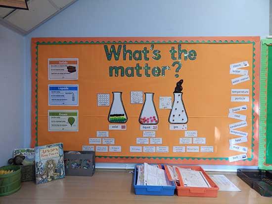 Berkswell Primary School Science Display