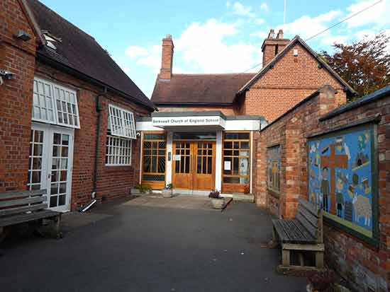 Berkswell Primary School Front Entrance, Coventry, UK